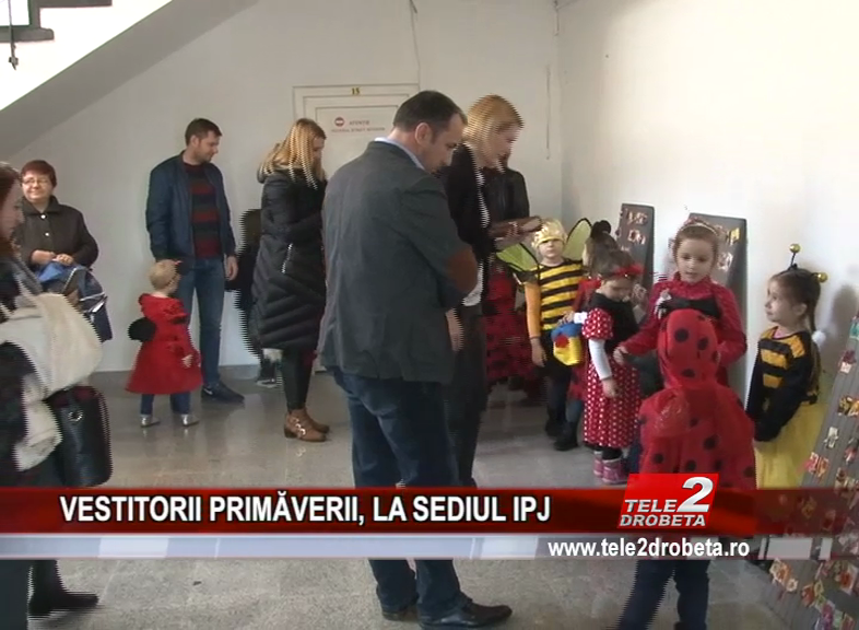 VESTITORII PRIMĂVERII, LA SEDIUL IPJ