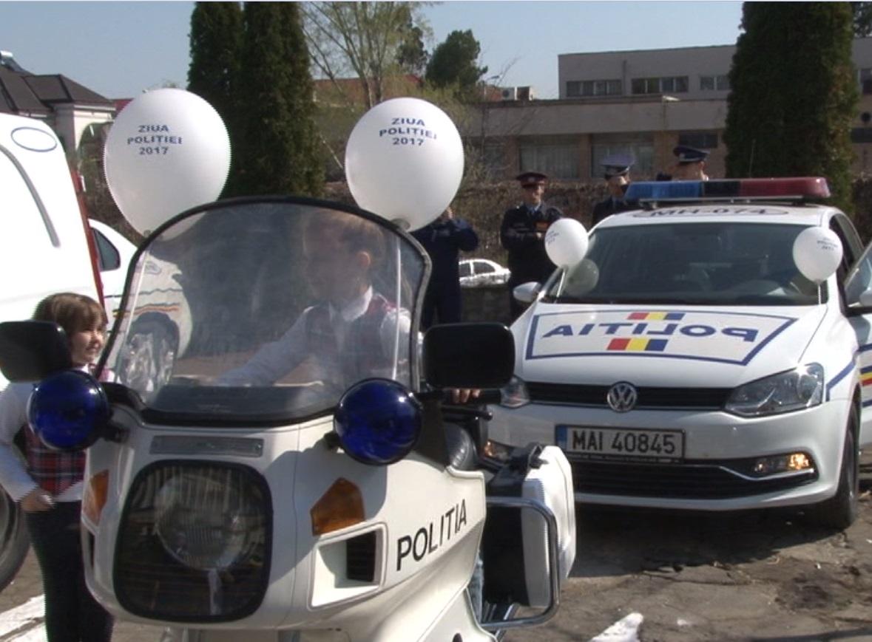 POLIȚIA ROMÂNA, LA CEAS ANIVERSAR