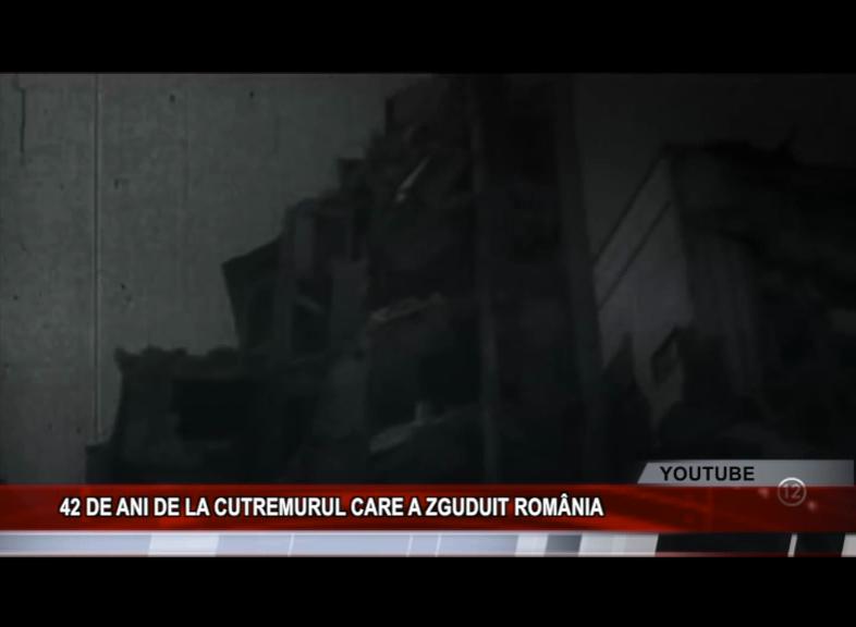 42 DE ANI DE LA CUTREMURUL CARE A ZGUDUIT ROMÂNIA