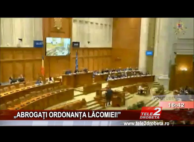 """""""ABROGAȚI ORDONANȚA LĂCOMIEI!"""""""