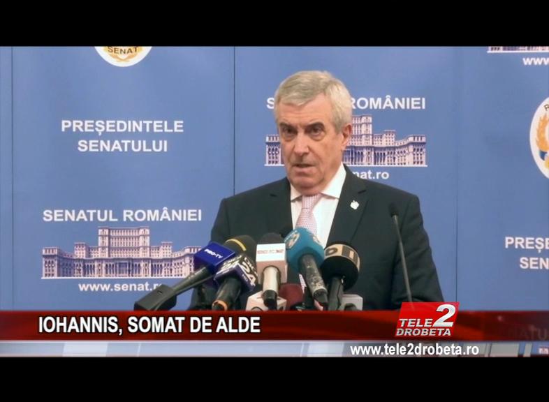 IOHANNIS, SOMAT DE ALDE