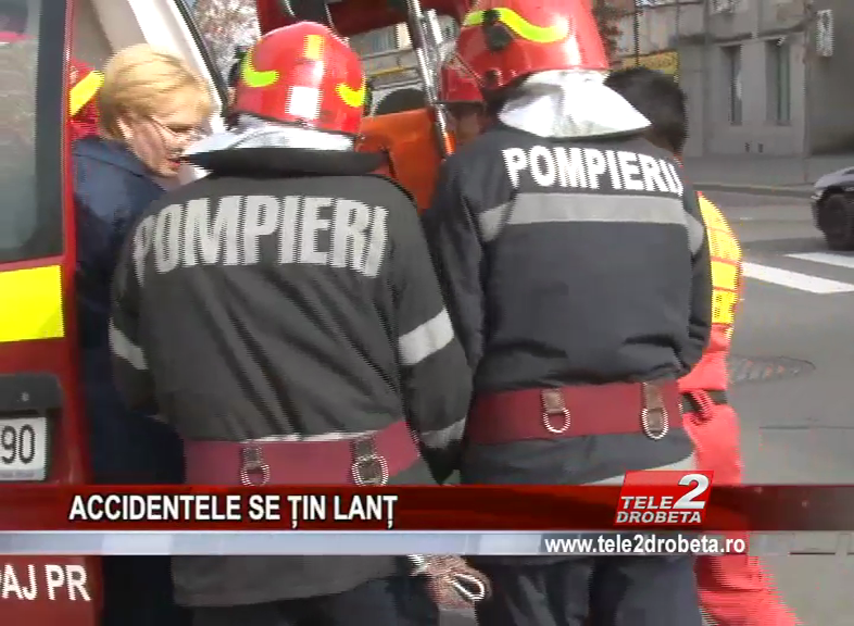 ACCIDENTELE SE ȚIN LANȚ