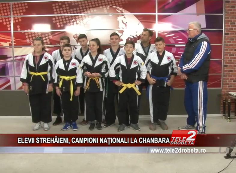 ELEVII STREHĂIENI, CAMPIONI NAȚIONALI LA CHANBARA