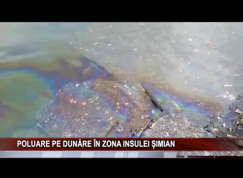 POLUARE PE DUNĂRE ÎN ZONA INSULEI ȘIMIAN