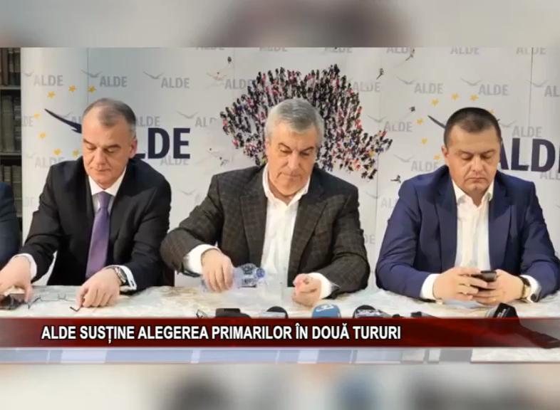 ALDE SUSȚINE ALEGEREA PRIMARILOR ÎN DOUĂ TURURI