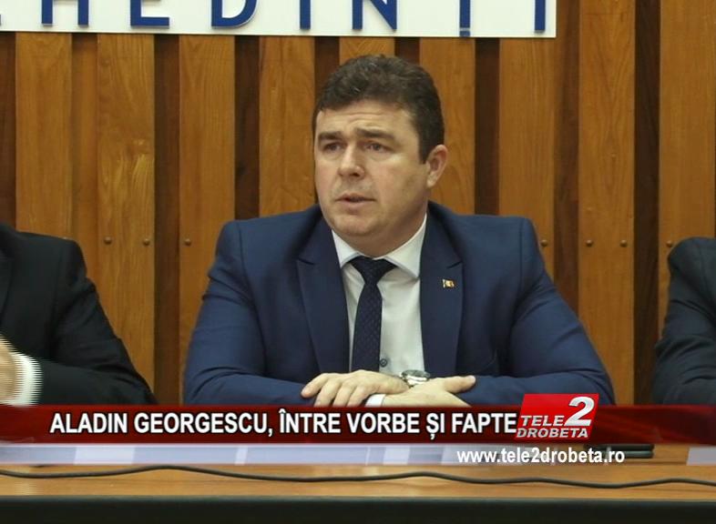ALADIN GEORGESCU, ÎNTRE VORBE ȘI FAPTE