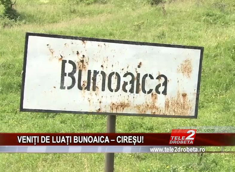 VENIȚI DE LUAȚI BUNOAICA – CIREȘU!