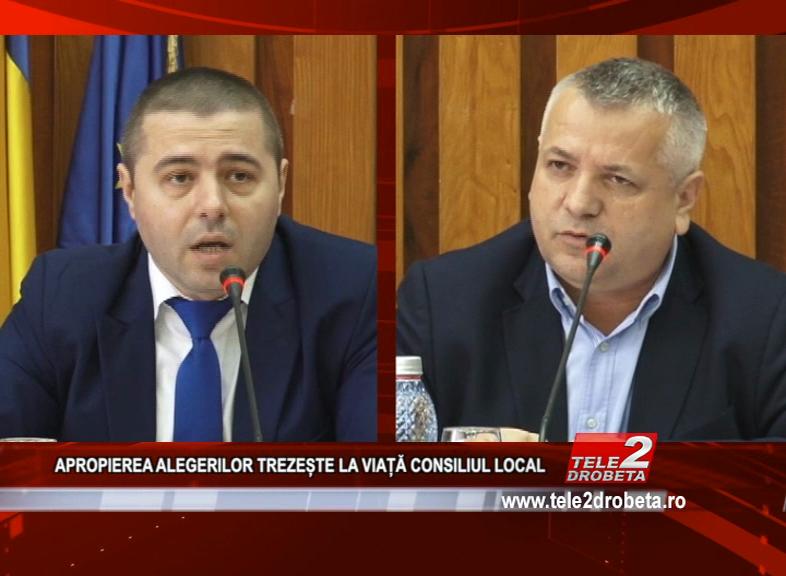 APROPIEREA ALEGERILOR TREZEȘTE LA VIAȚĂ CONSILIUL LOCAL