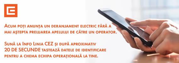 ÎNTRERUPEREA FURNIZĂRII ENERGIEI ELECTRICE, SĂPTĂMÂNA 12 AUGUST – 18 AUGUST 2019