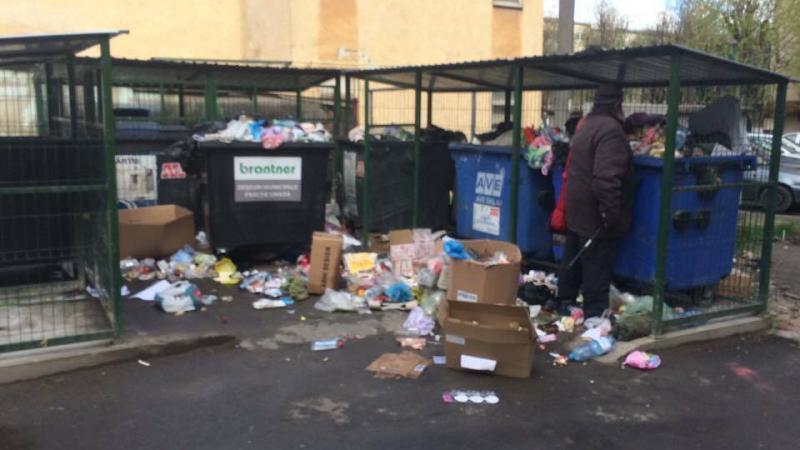 Aruncarea gunoiului menajer pe domeniul public,MAI MULTE SANCŢIUNI