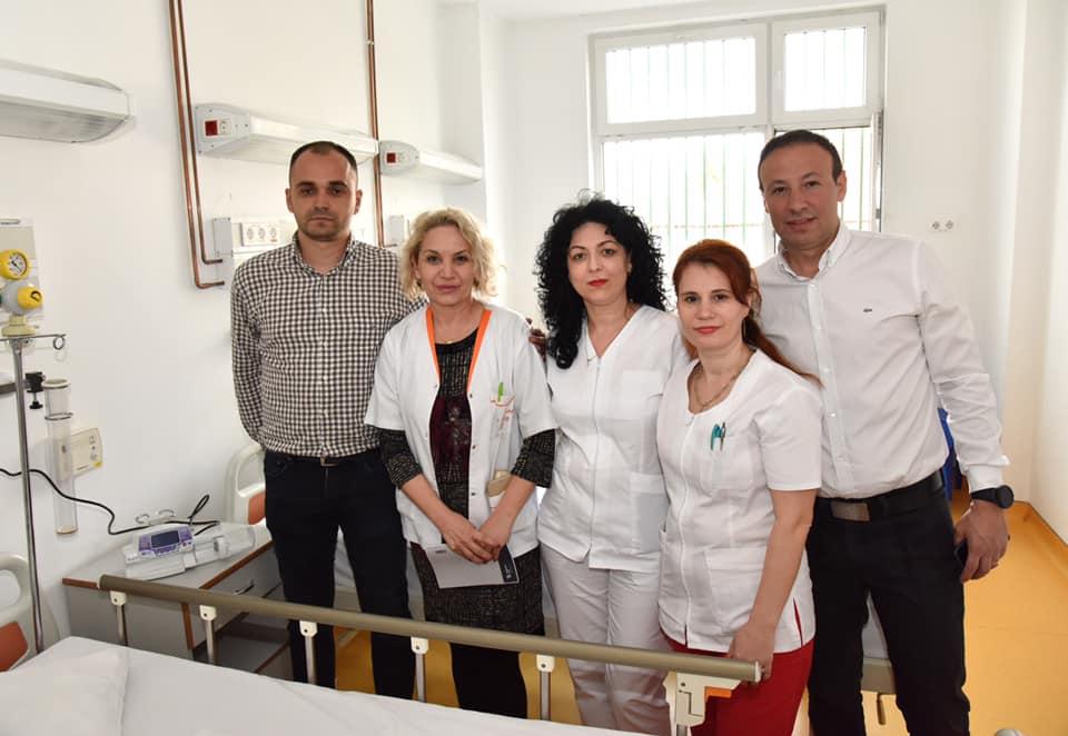 O nouă donație pentru Spitalul Județean de Urgență Drobeta-Turnu Severin
