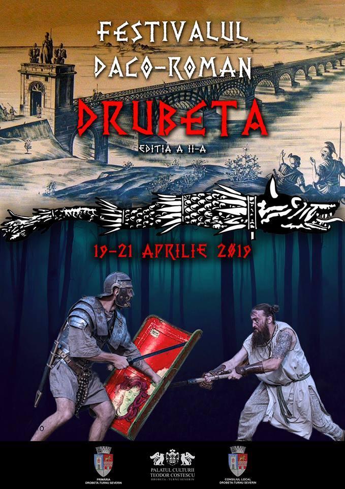 În ce perioadă se organizează Festivalul Daco-Roman Drubeta