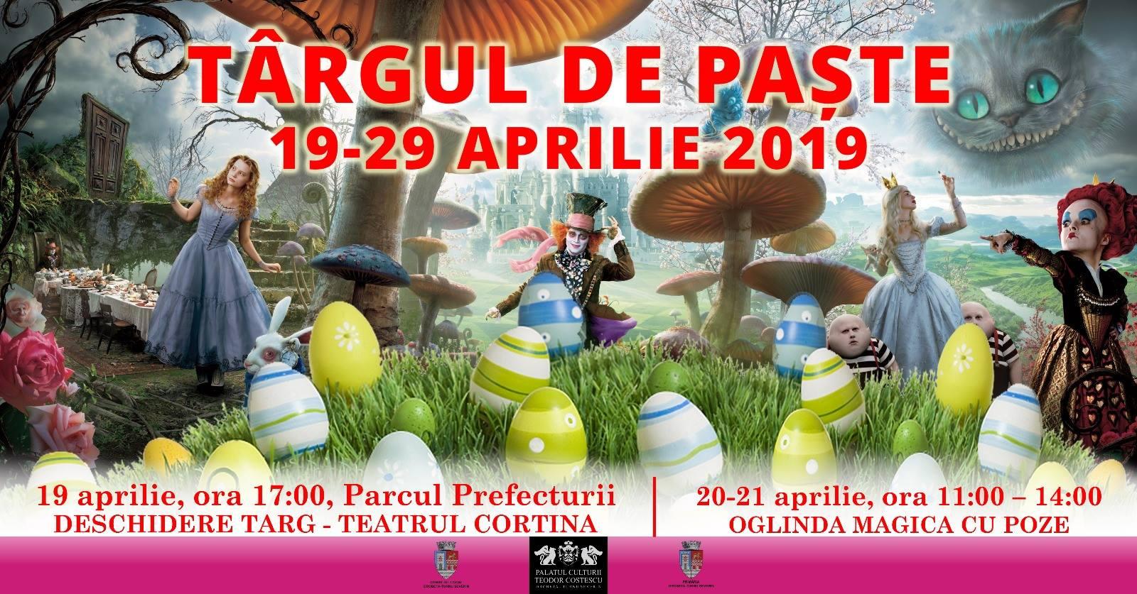 Târgul de Paște se deschide în centrul Severinului în data de 19 aprilie