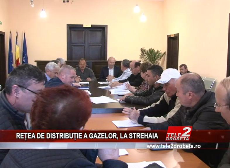 REȚEA DE DISTRIBUȚIE A GAZELOR, LA STREHAIA