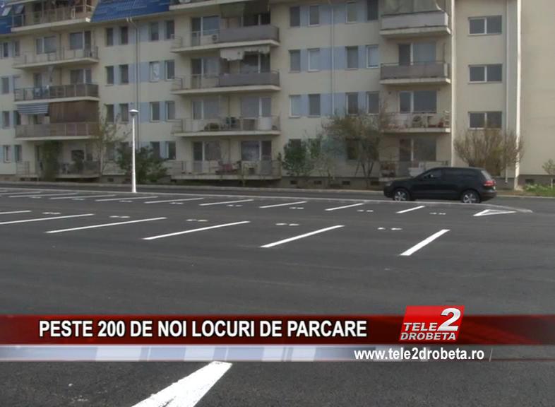 PESTE 200 DE NOI LOCURI DE PARCARE