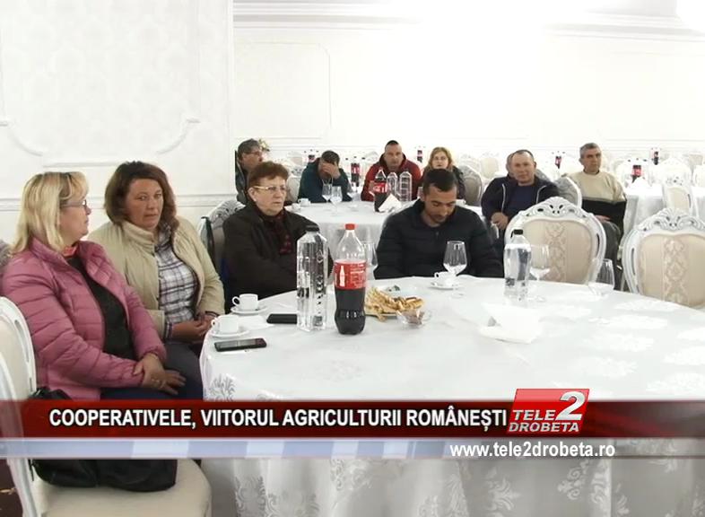 COOPERATIVELE, VIITORUL AGRICULTURII ROMÂNEȘTI