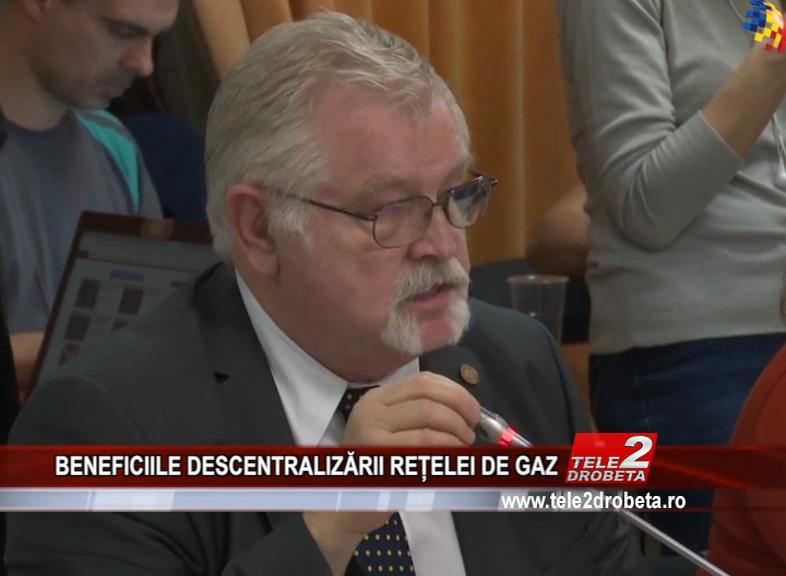 BENEFICIILE DESCENTRALIZĂRII REȚELEI DE GAZ