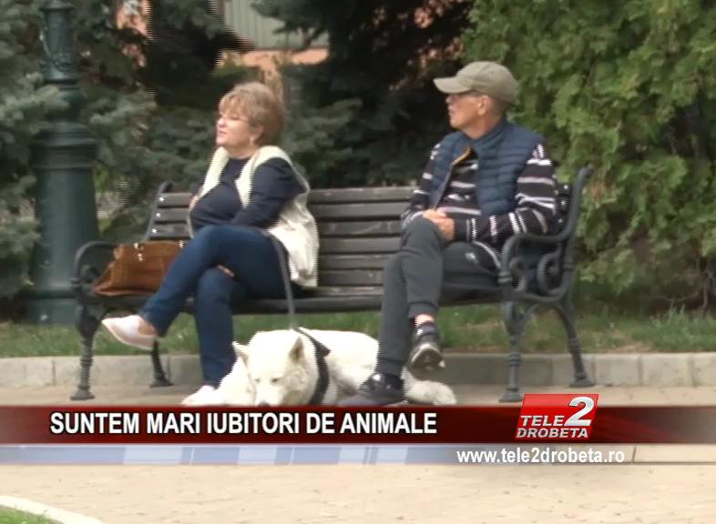 SUNTEM MARI IUBITORI DE ANIMALE