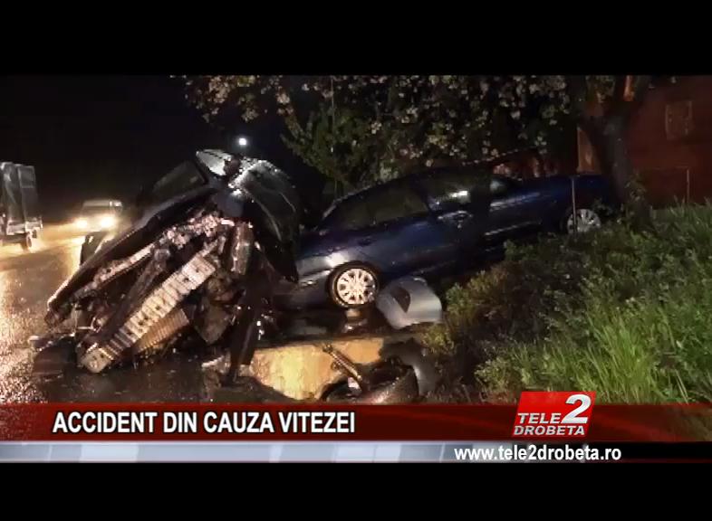 ACCIDENT DIN CAUZA VITEZEI