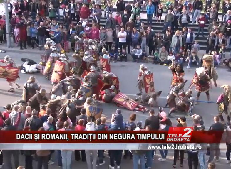 DACII ȘI ROMANII, TRADIȚII DIN NEGURA TIMPULUI