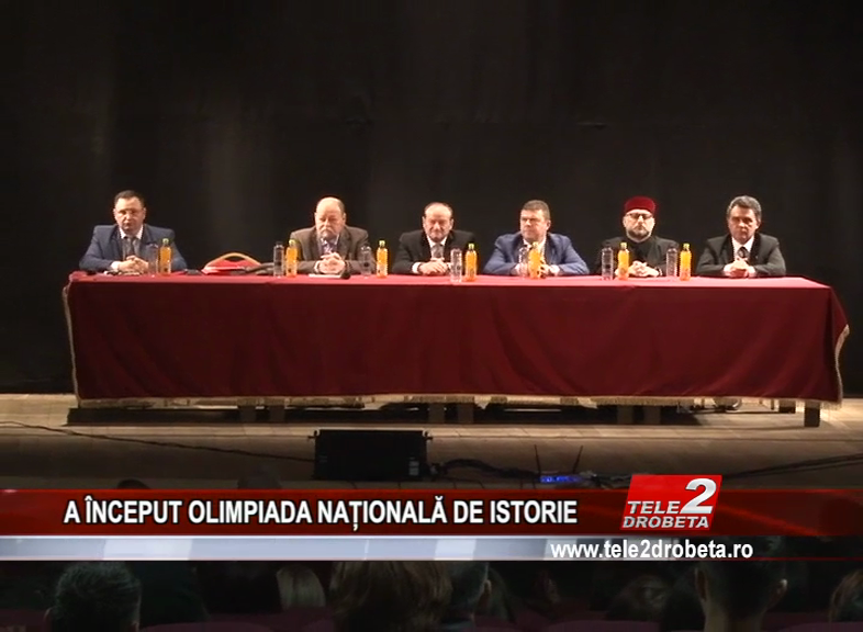 A ÎNCEPUT OLIMPIADA NAȚIONALĂ DE ISTORIE