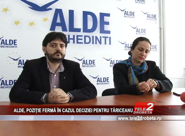 ALDE, POZIȚIE FERMĂ ÎN CAZUL DECIZIEI PENTRU TĂRICEANU