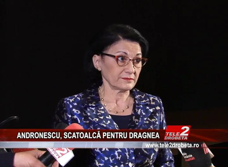 ANDRONESCU, SCATOALCĂ PENTRU DRAGNEA