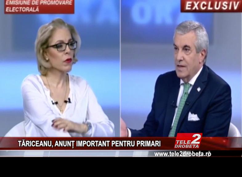 TĂRICEANU, ANUNȚ IMPORTANT PENTRU PRIMARI