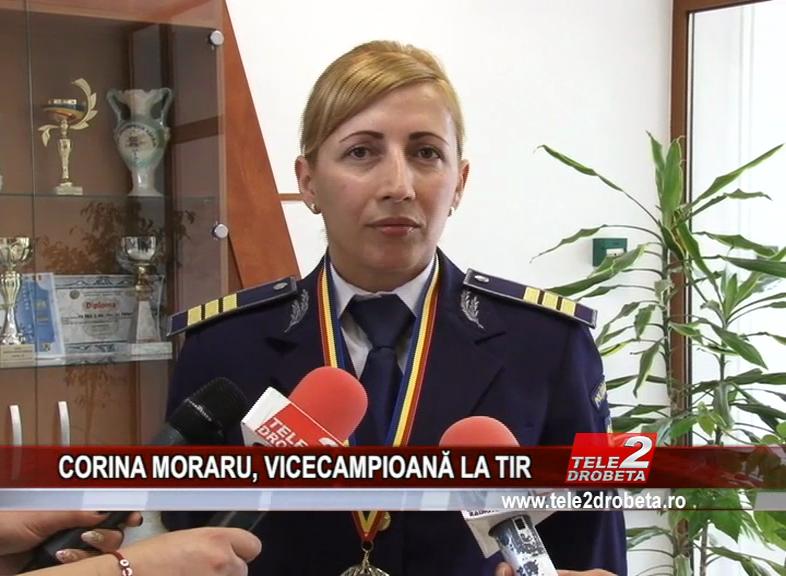 CORINA MORARU, VICECAMPIOANĂ LA TIR