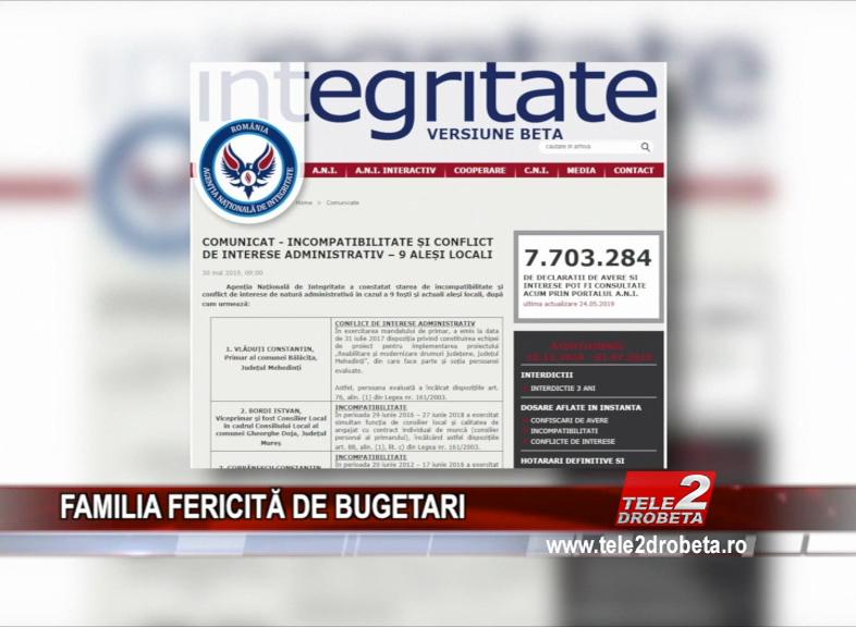 FAMILIA FERICITĂ DE BUGETARI