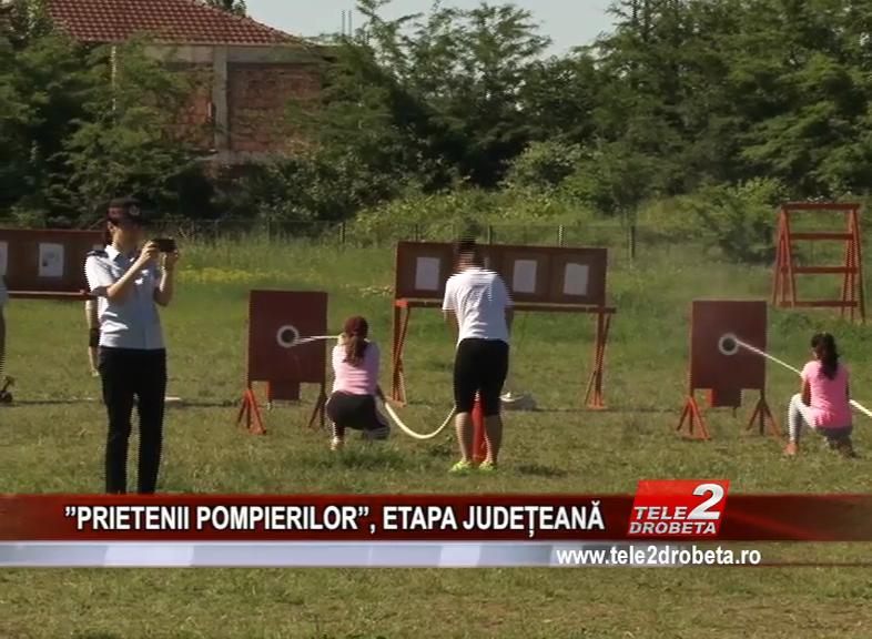 ''PRIETENII POMPIERILOR'', ETAPA JUDEȚEANĂ