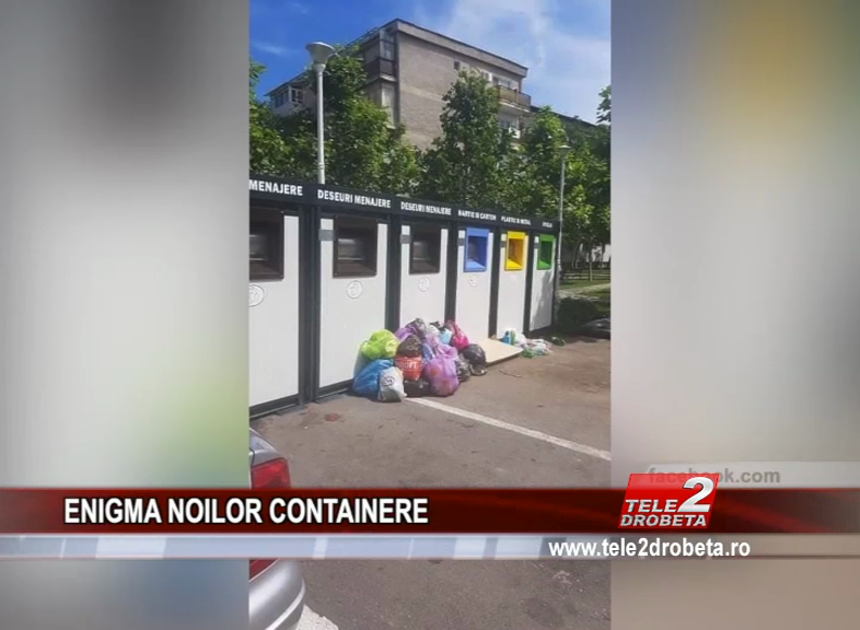 ENIGMA NOILOR CONTAINERE