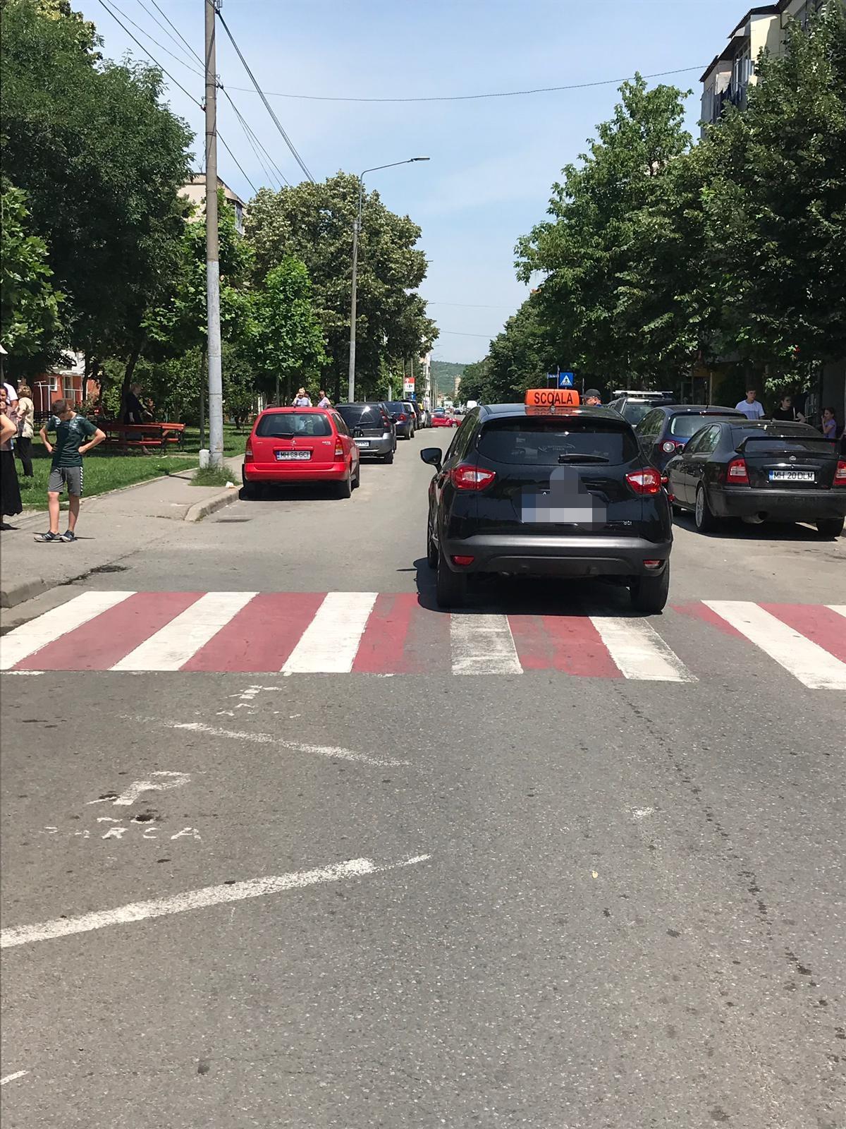 O minoră a fost lovită de un autoturism în Turnu Severin