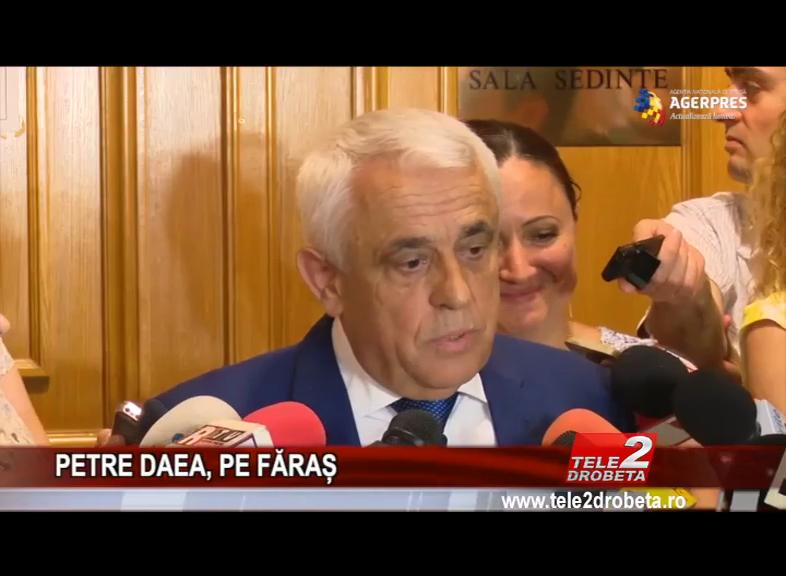 PETRE DAEA, PE FĂRAȘ