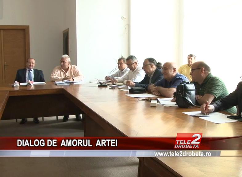 DIALOG DE AMORUL ARTEI