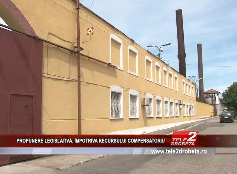 PROPUNERE LEGISLATIVĂ, ÎMPOTRIVA RECURSULUI COMPENSATORIU