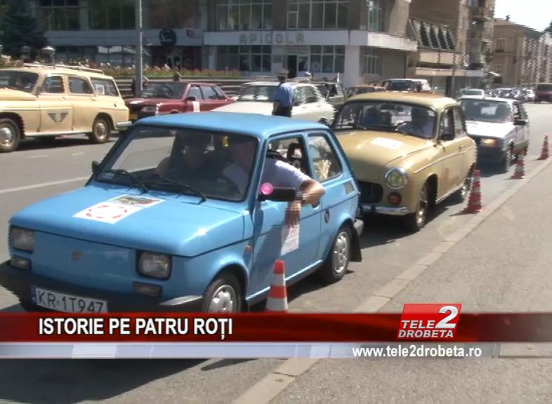 ISTORIE PE PATRU ROȚI