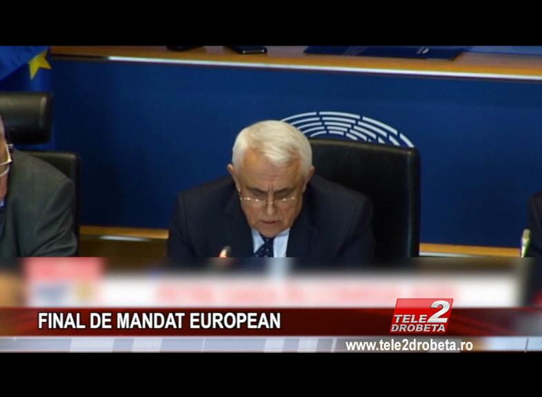 FINAL DE MANDAT EUROPEAN