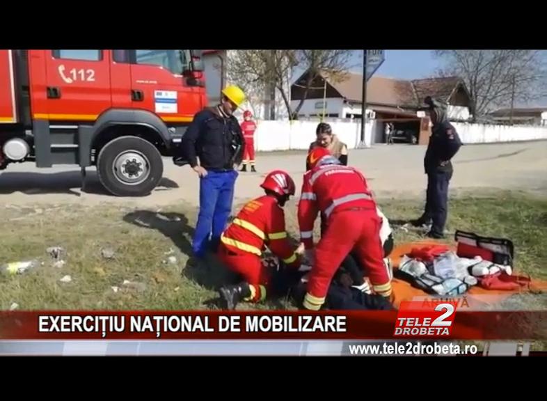 EXERCIȚIU NAȚIONAL DE MOBILIZARE