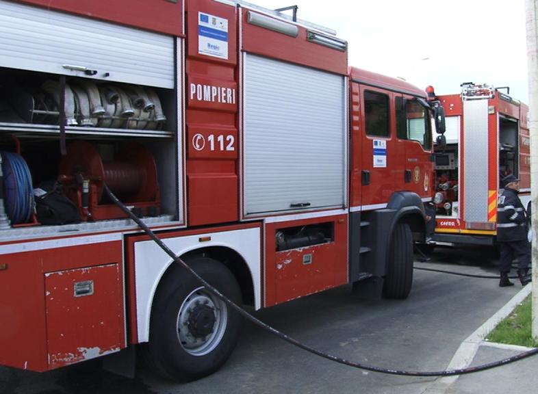 Concurs între pompierii din cadrul a cinci inspectorate pentru situaţii de urgenţă