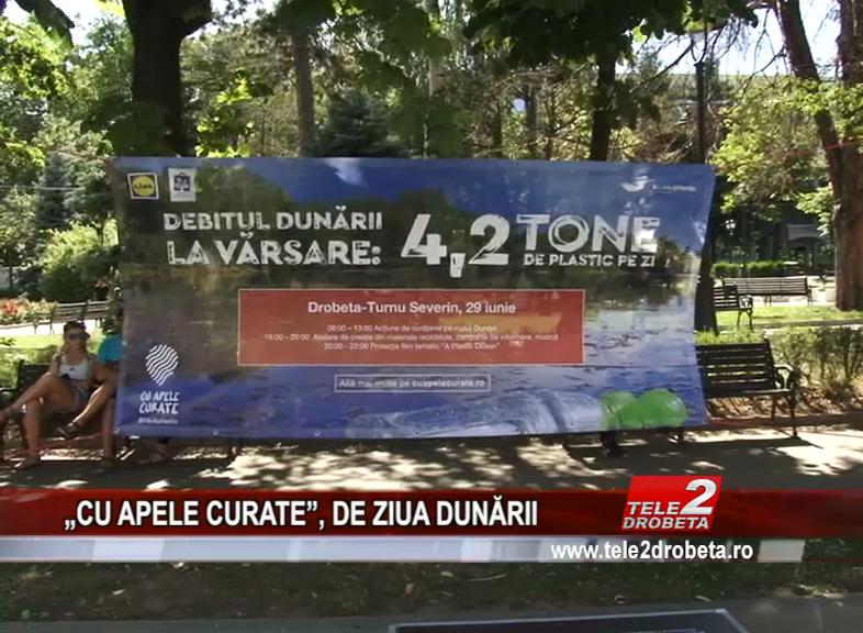 """""""CU APELE CURATE"""", DE ZIUA DUNĂRII"""