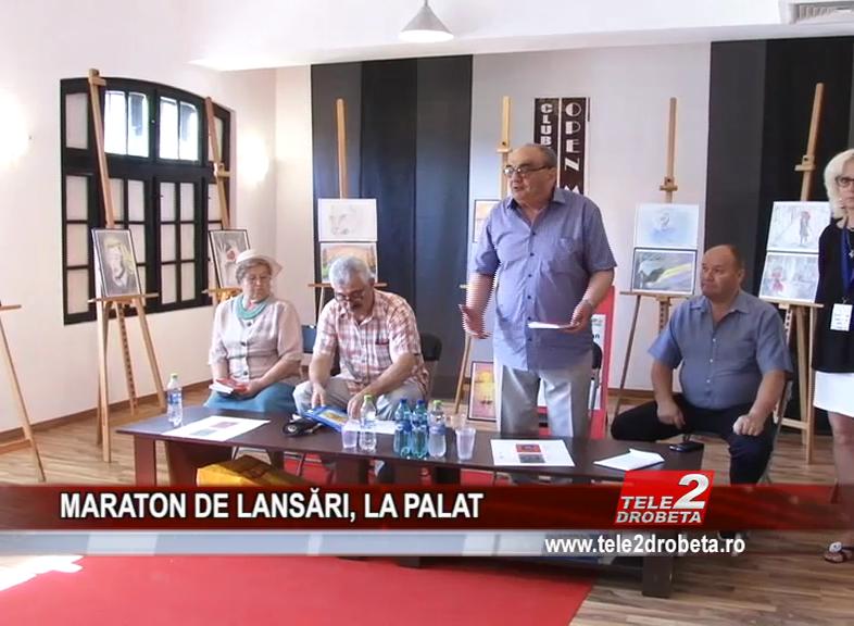 MARATON DE LANSĂRI, LA PALAT