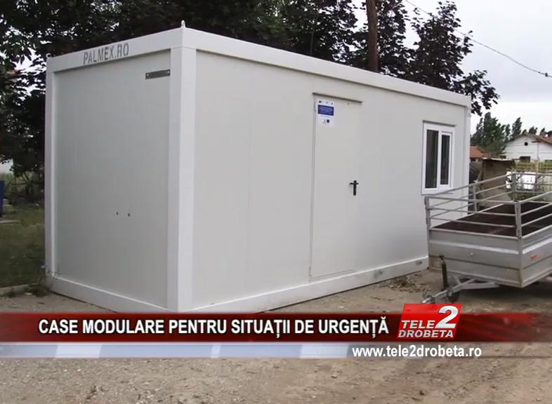 CASE MODULARE PENTRU SITUAȚII DE URGENȚĂ
