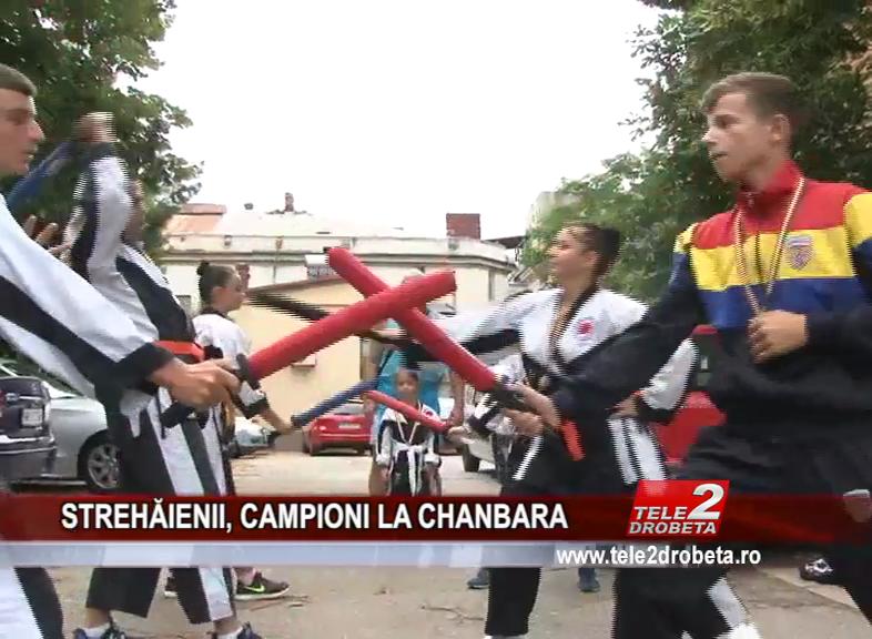 STREHĂIENII, CAMPIONI LA CHANBARA