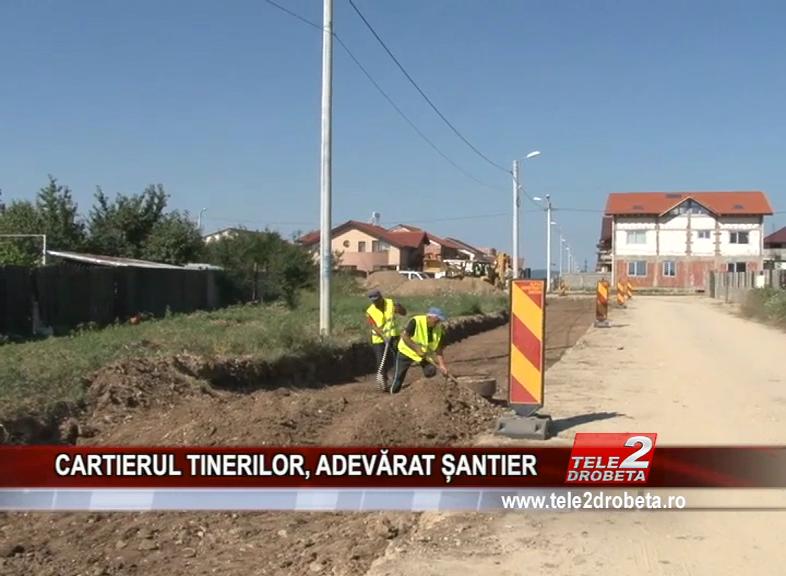 CARTIERUL TINERILOR, ADEVĂRAT ȘANTIER
