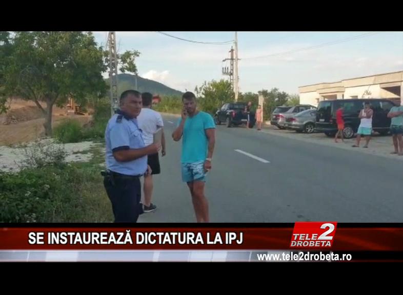 SE INSTAUREAZĂ DICTATURA LA IPJ