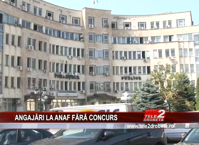 ANGAJĂRI LA ANAF FĂRĂ CONCURS