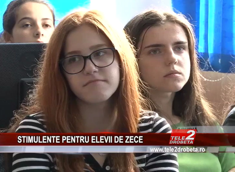 STIMULENTE PENTRU ELEVII DE ZECE