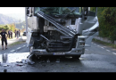 ACCIDENT LA IEȘIRE DIN ORȘOVA
