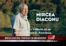 MIRCEA DIACONU, PREFERAT DE MEHEDINȚENI